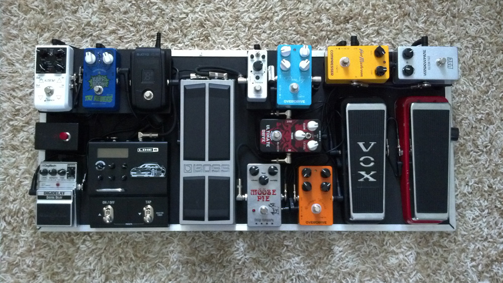 Pedal Line Friday - 6/5 - Jason Thompson