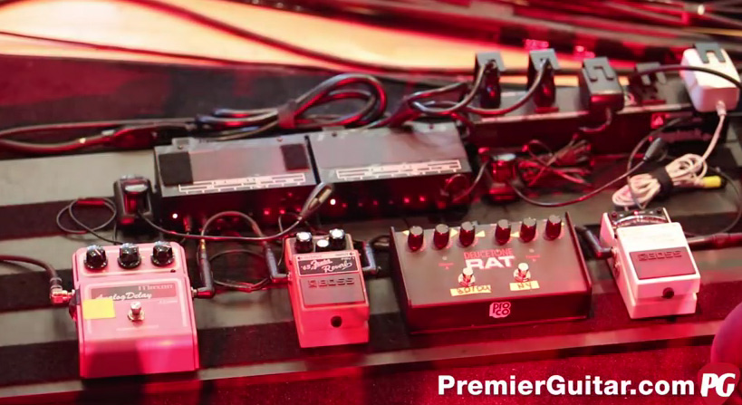 Pedalboard Break Down of Nick Harmer of Death Cab for Cutie