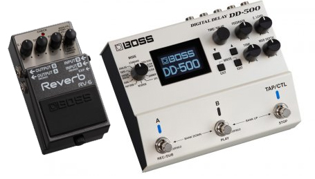 Summer NAMM 2015 - Boss DD-500 and Boss RV-6