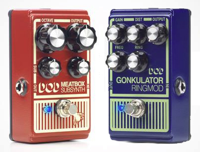 DOD Meatbox and Gonkulator Reissues