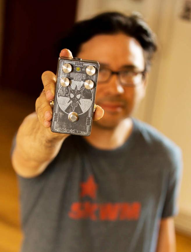 Idiot Box Effects Blower Box Bass Distortion Give Away
