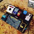 Noveller Pedalboard for European tour