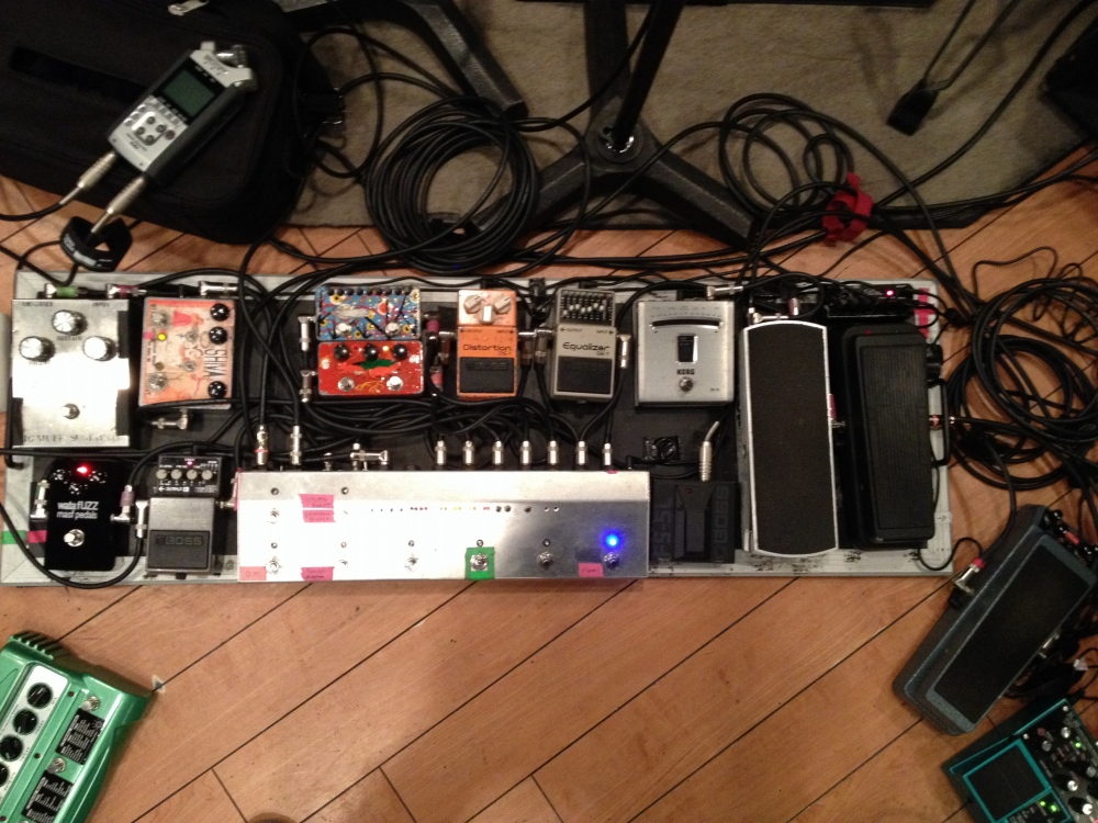 Pedalboard for Wata of Boris