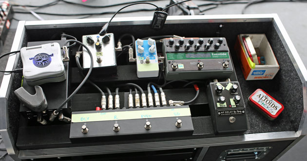 Pedalboards of My Morning Jacket's Carl Broemel
