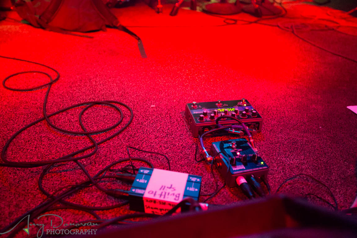 Doug Martsch's Pedalboard of Built to Spill 2015