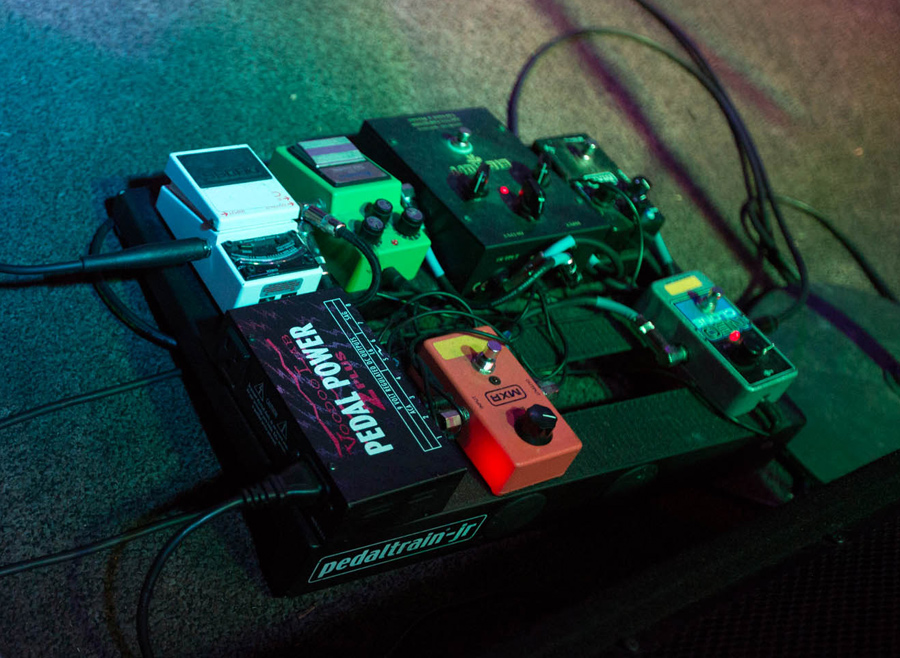 Clayton Parker - Bully - Pedalboard