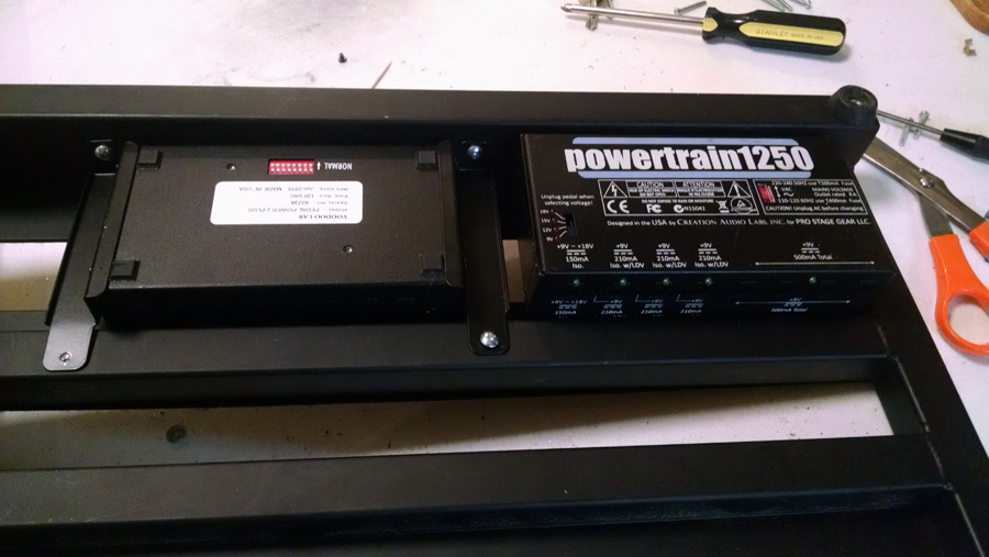 Installing 2nd Power Supply into Pedaltrain PT-2