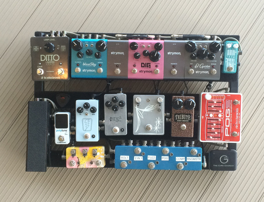 Pedal Line Friday - 10/30 - Mitch Moser