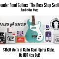 Thunder Road Guitars / Bass Shop Seattle Give Away - Reminder