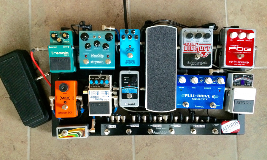 Pedal Line Friday - 12/11 - Dany Escobar