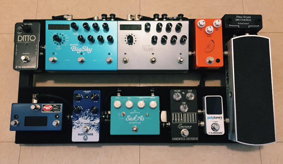 Pedal Line Friday - 12/25 - Ian Pineda