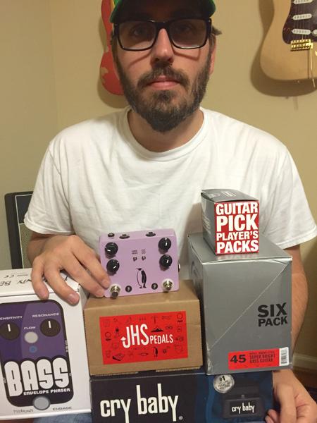 Thunder Road Guitars / Bass Shop Seattle Give Away - Winner #2