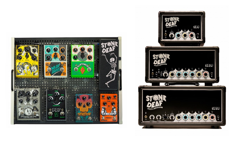 Stone Deaf Effects Announces the Launch of 9 new products at NAMM 2016