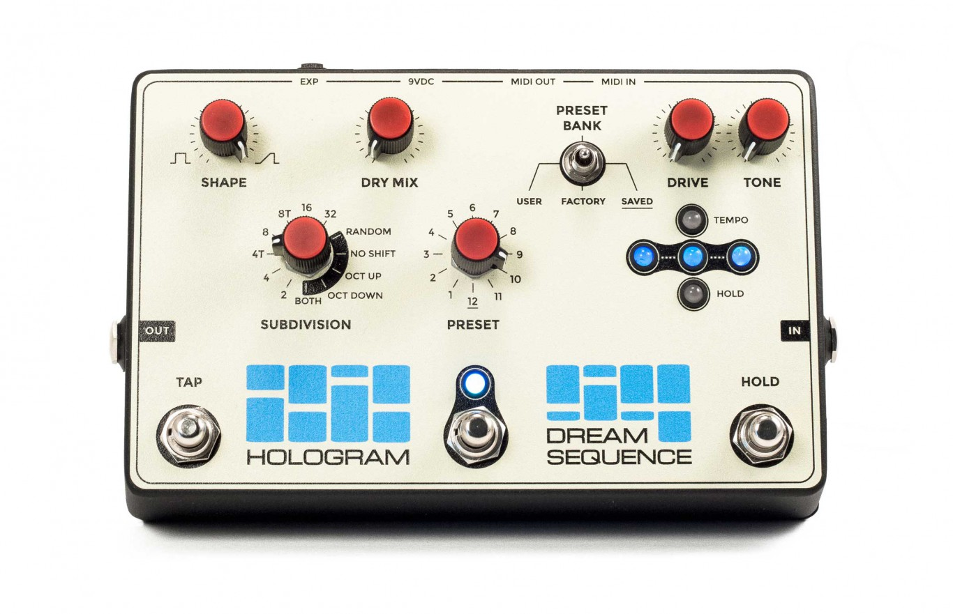 Dream Sequence Programmable Rhythm & Octave by Hologram Electronics