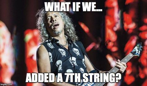 Kirk Hammett - an actual guitar player
