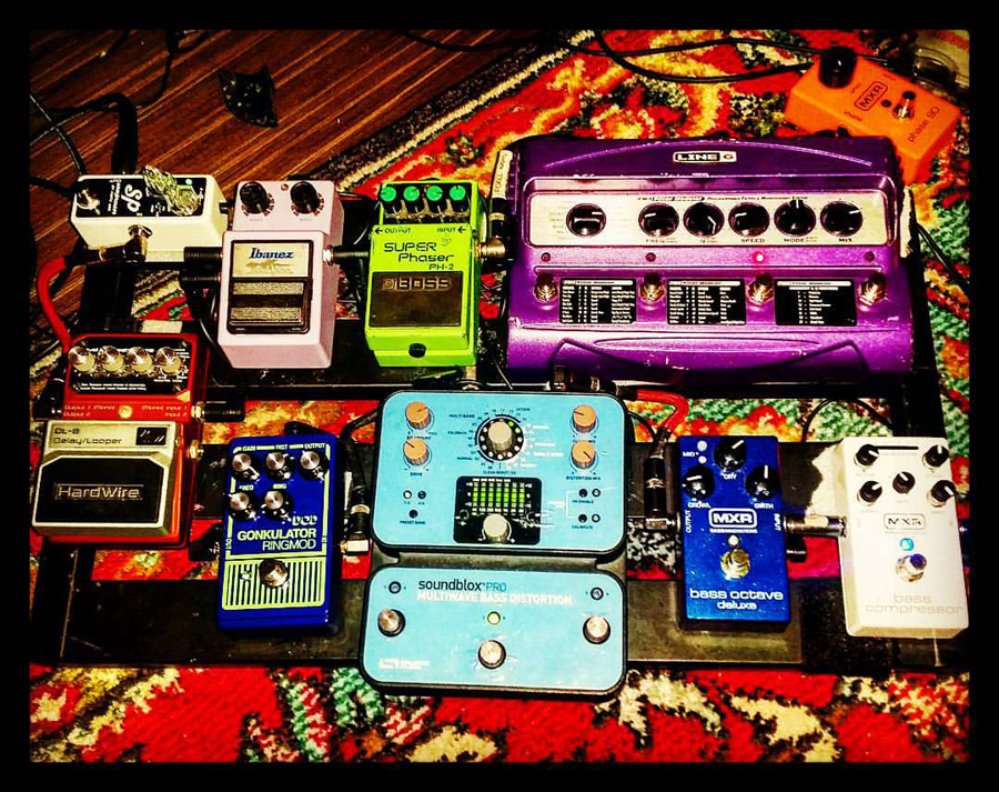 Pedal Line Friday - 2/19 - Andrew Diaz