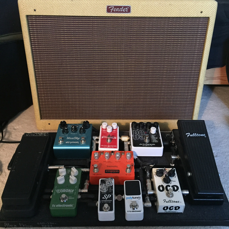 Pedal Line Friday - 2/5 - Alex Price