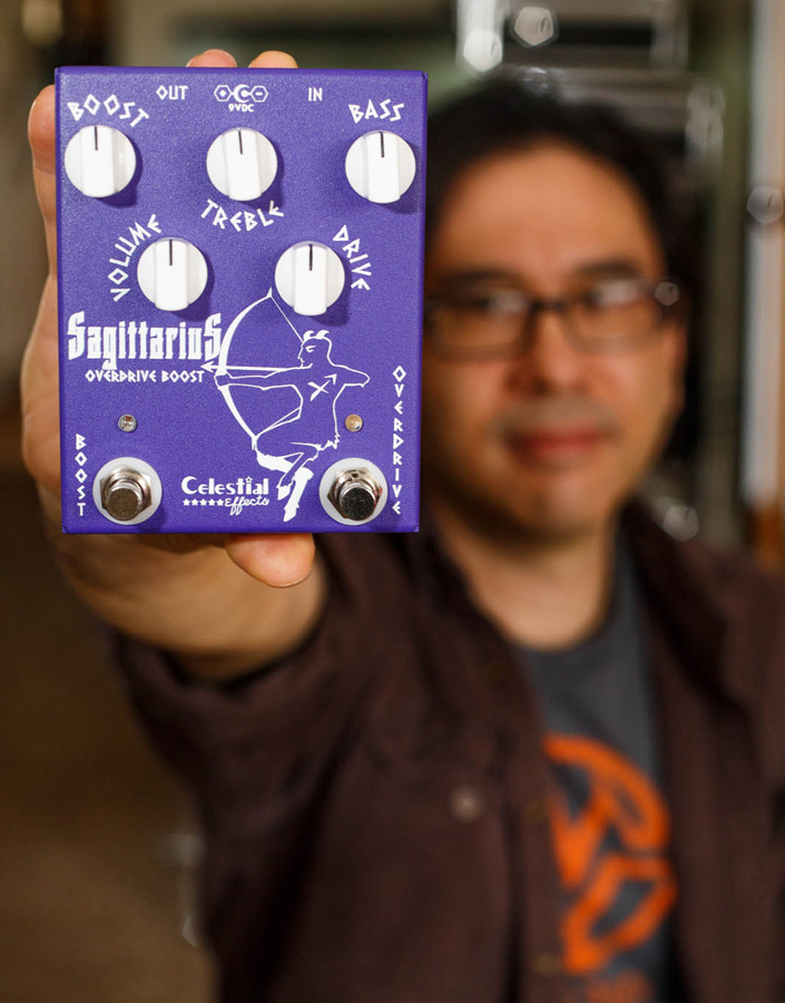 Celestial Effects Sagittarius Overdrive Give Away