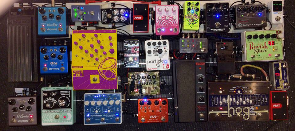 Pedal Line Friday - 3/11 - Cyril Meleiro
