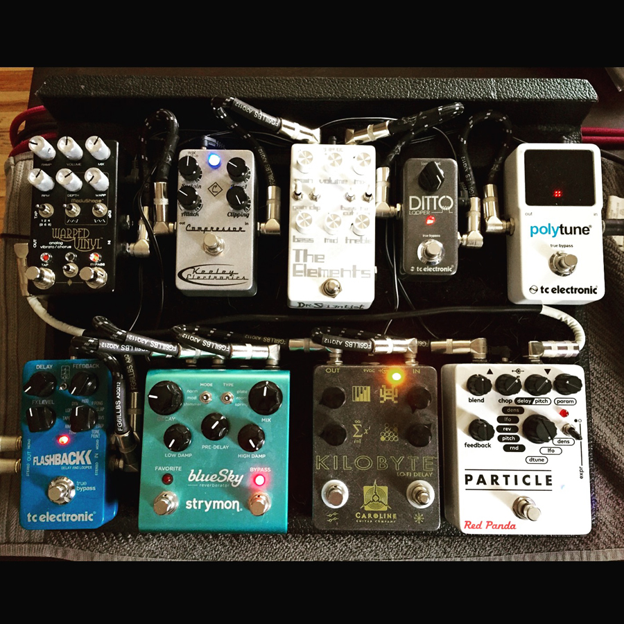 Pedal Line Friday - 5/13 - Olav Christensen