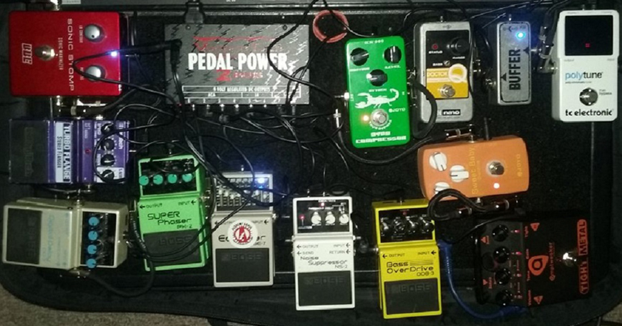 Pedal Line Friday - 5/6 - David Polidoro
