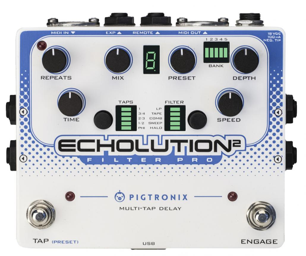 Pigtronix Echolution 2 Filter Pro Delay