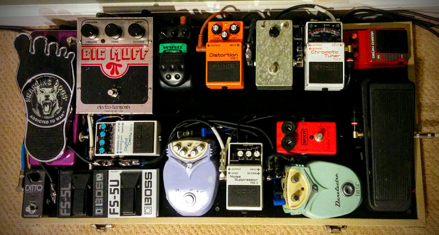 Pedal Line Friday - 7/14 - James Takacs