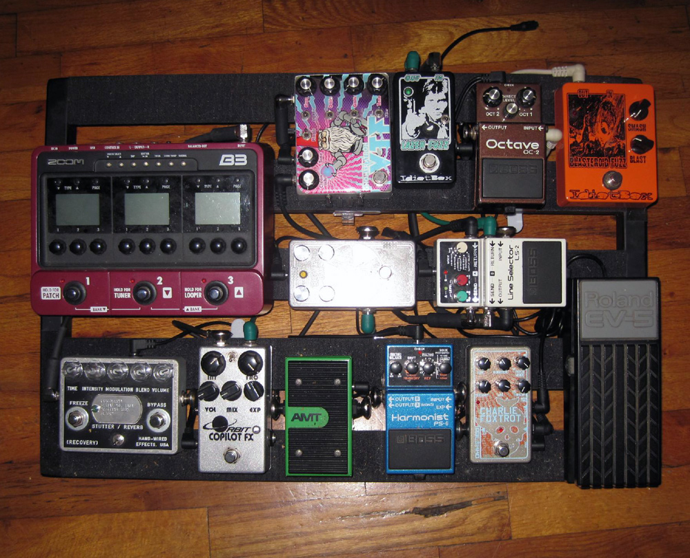 Pedal Line Friday - 7/29 - Jay Russel