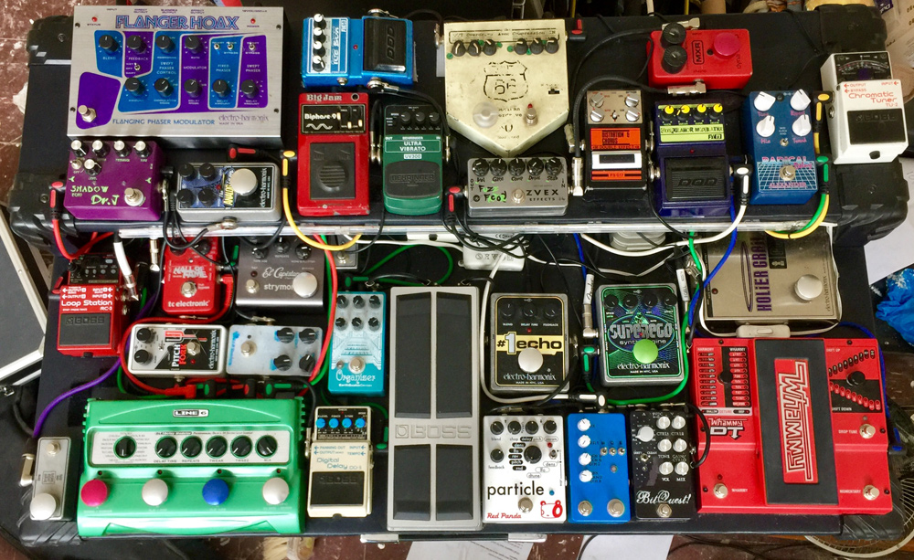 Pedal Line Friday - 8/19 - Derek Green