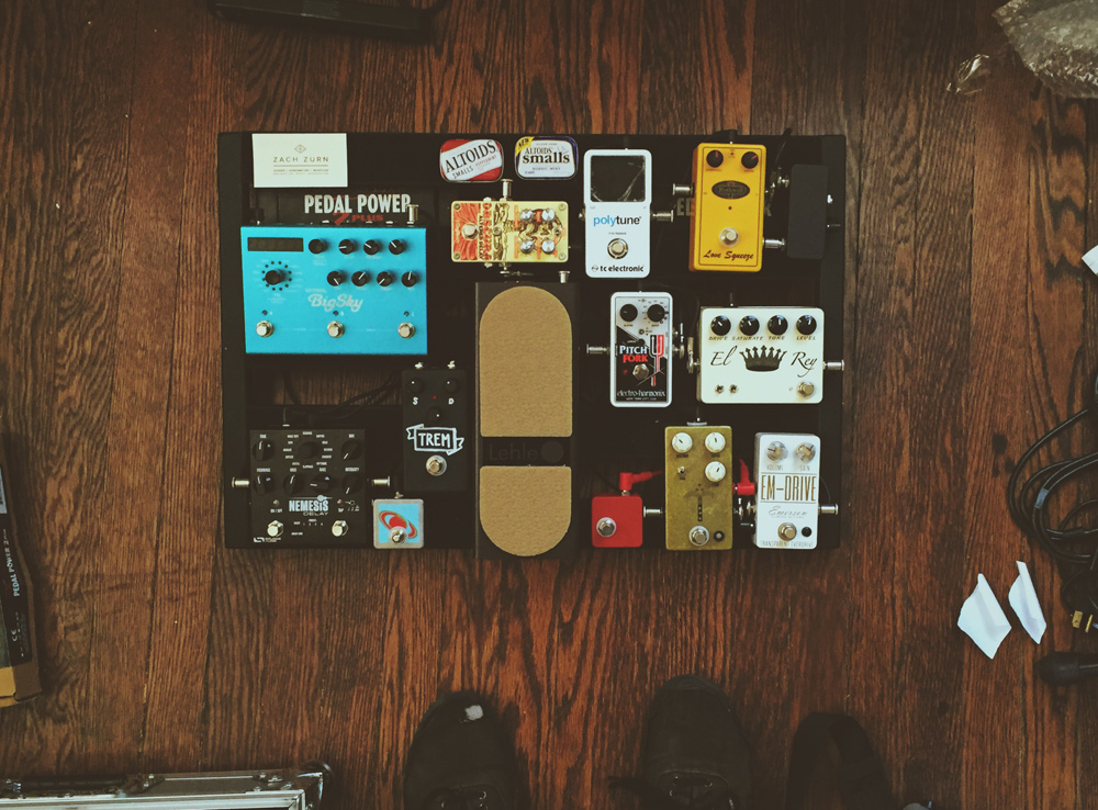 Pedal Line Friday - 8/26 - Zach Zurn