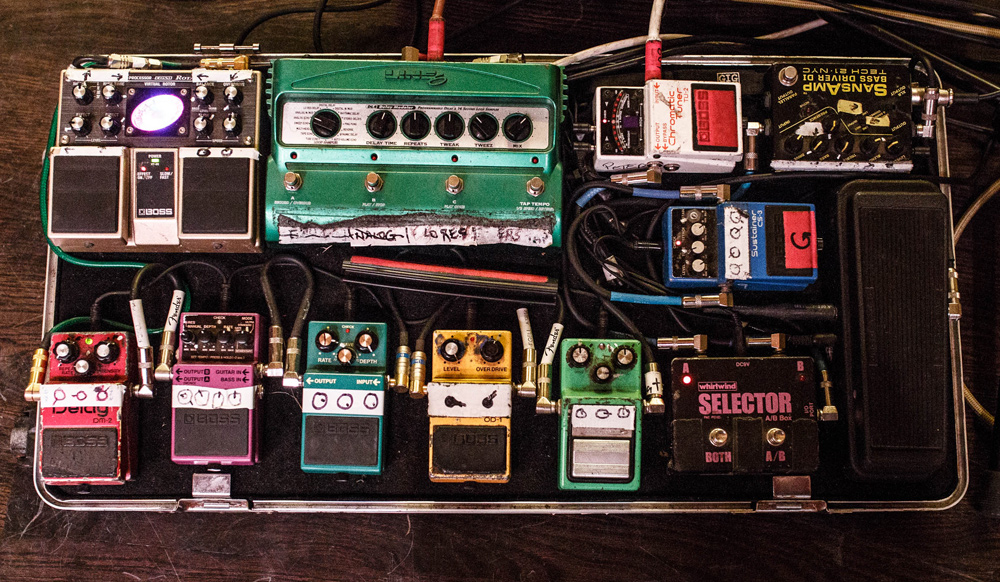 Peter Koppes - Pedalboard - The Church