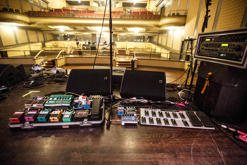 Peter Koppes - Pedalboards - The Church