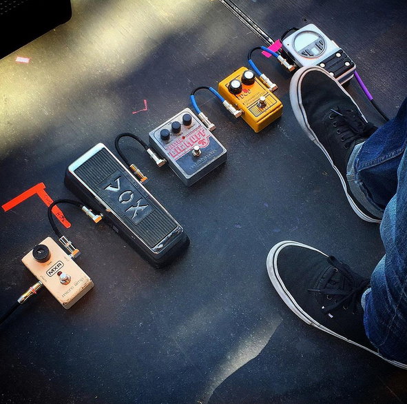 Steve Turner of Mudhoney - Pedals!