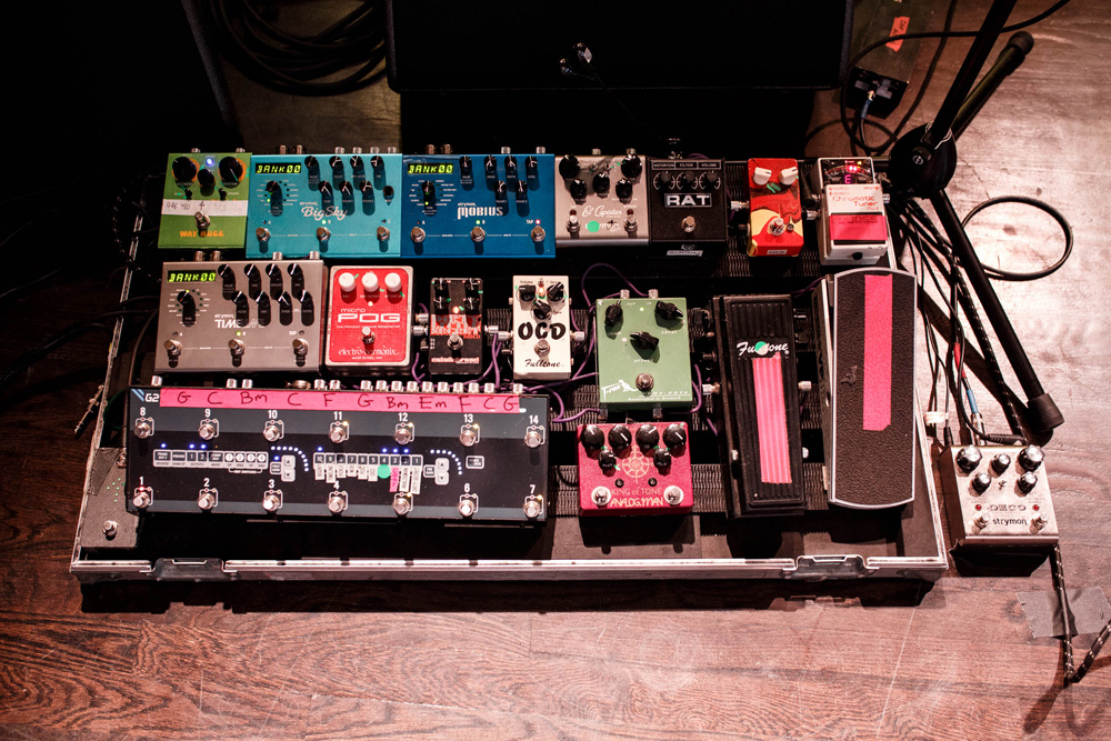 The Church - Ian Haug - Pedalboard