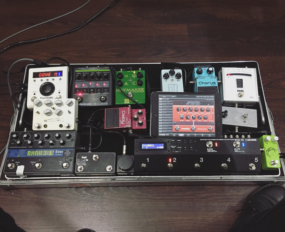 Pedal Line Friday - 9/9 - David Chatziliadis