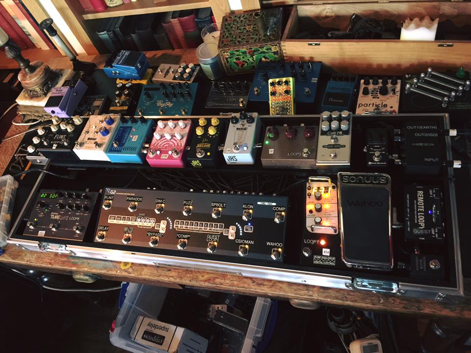 Studio Pedalboard for Noel Gallagher