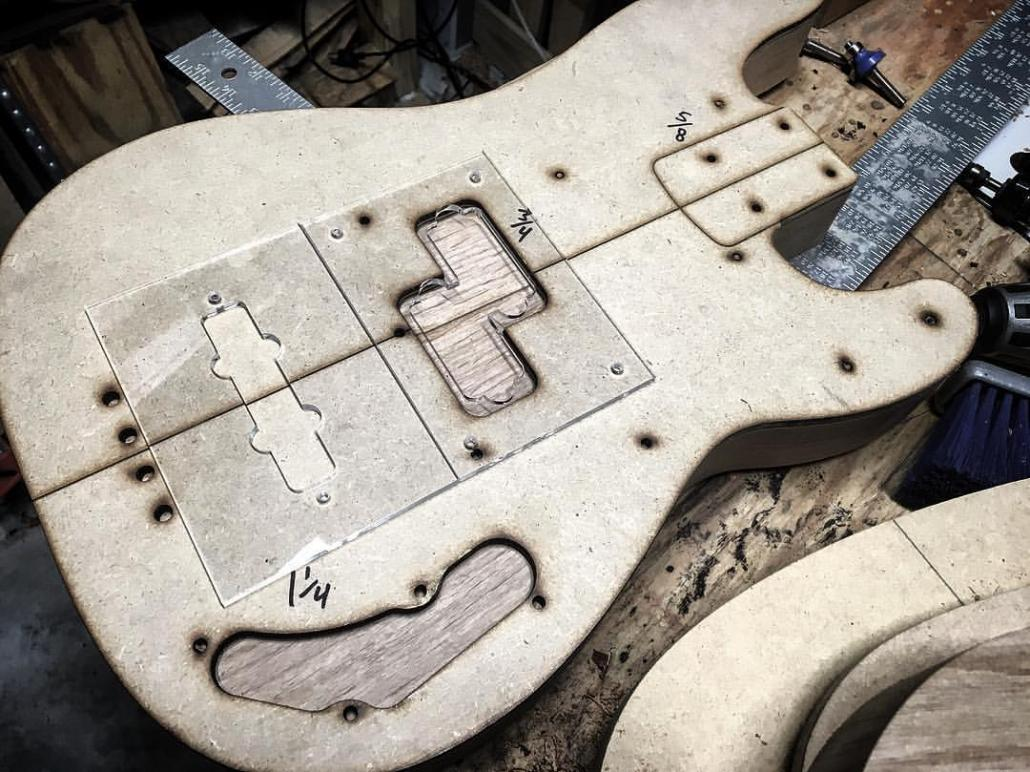 Copeland Guitars - Template