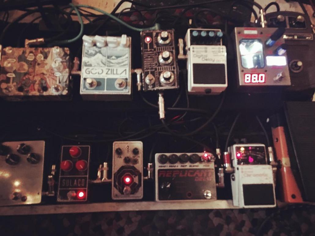 New Pedalboard for Ryan Adams