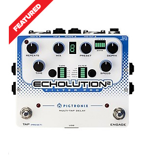Pigtronix Echolution 2 Filter Pro Delay Sale