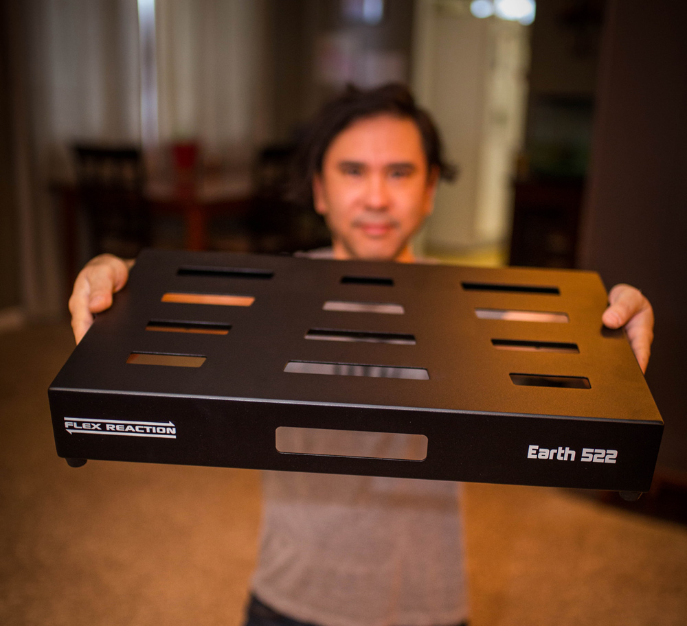 Flex Reaction Earth 522 Pedalboard Give Away