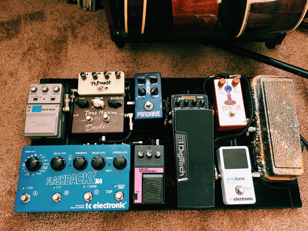 Pedal Line Friday - 12/9 - Jake Van Paepeghem