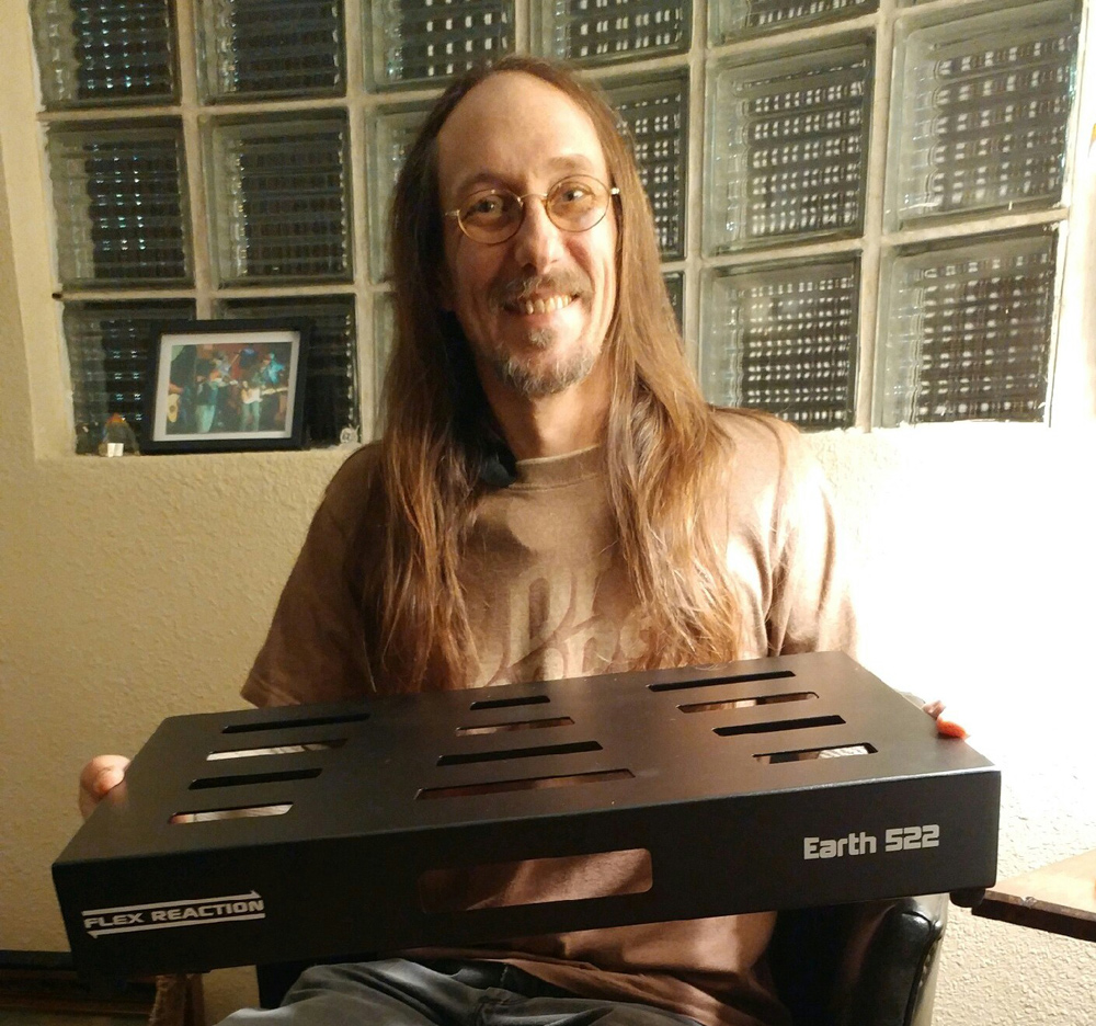 Flex Reaction Earth 522 Pedalboard Give Away - The Winner!
