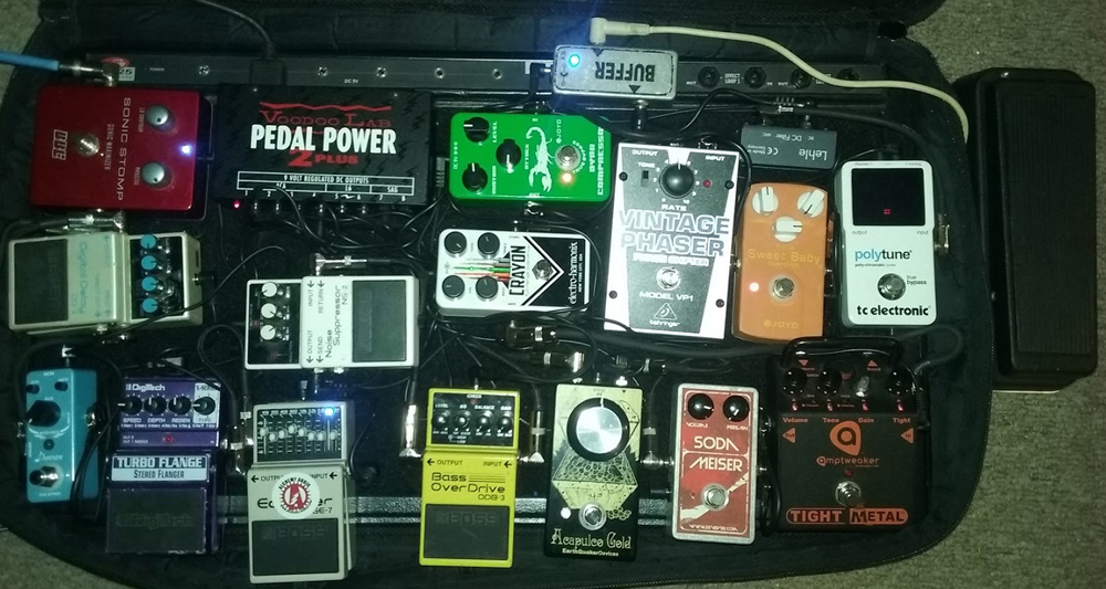 Pedal Line Friday - 1/27 - David Polidoro
