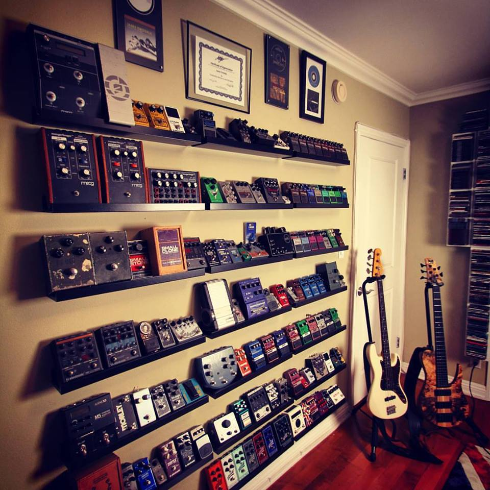 The Pedal Wall