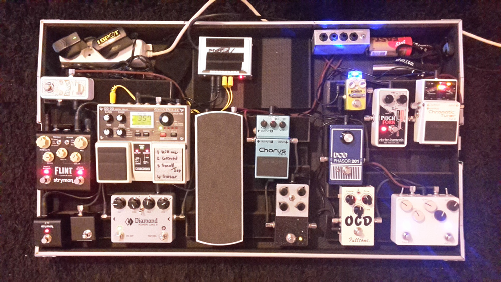 Pedal Line Friday - 2/24 - Jean-Thomas