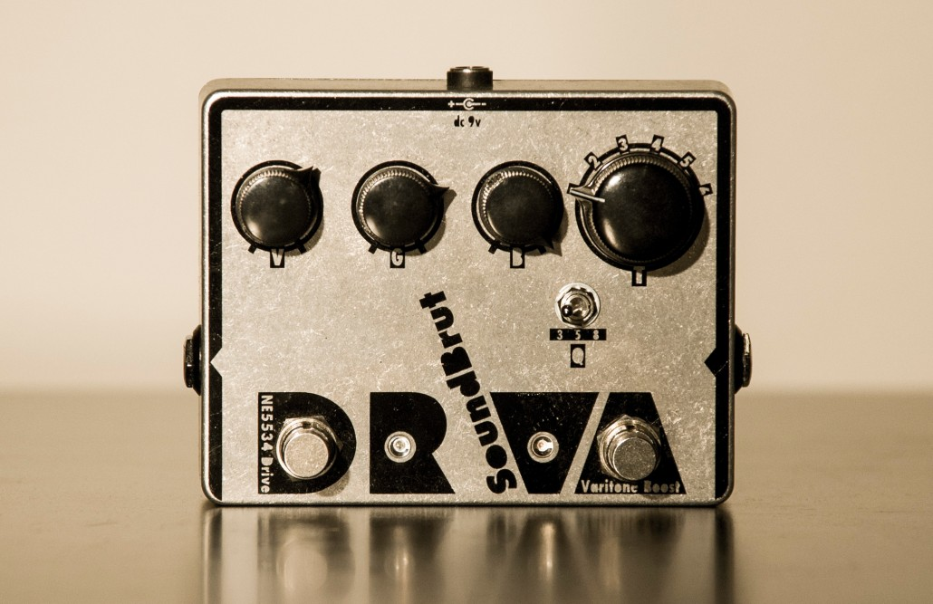 SoundBrut introduces DrVa overdrive + boost