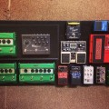 David Knudson - Minus the Bear - Pedalboard