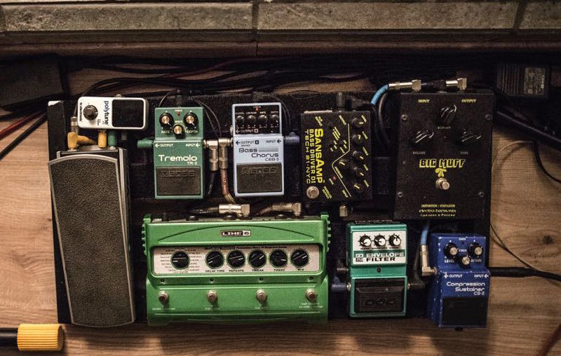 Pedal Line Friday - 3/24 - Roy Vazquez