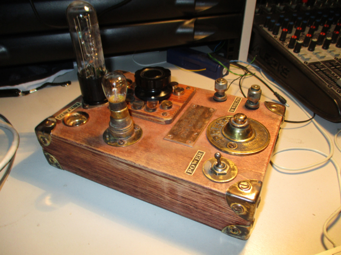 Steampunk Fuzz Box