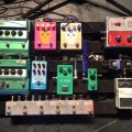 Jake Snider - Minus the Bear - Pedalboard